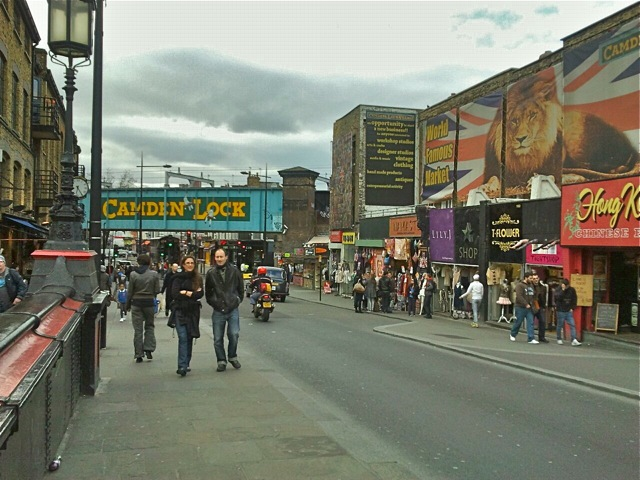 Vibrant and eclectic Camden Town