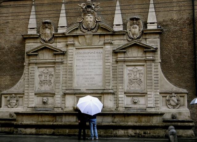 Rain in Bologna