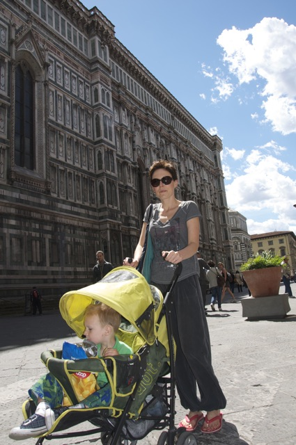 Florence with Niko