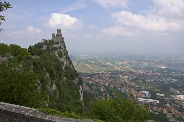 The moutain of San Marino
