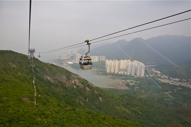 Ngong Ping 360 to the Big Buddha
