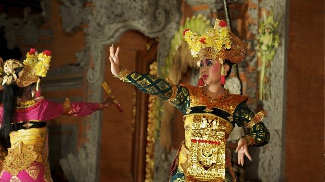 Barong Dancer in Ubud Bali