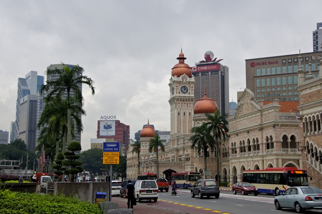 Kuala Lumpur - New and Old together - Merdeka Square