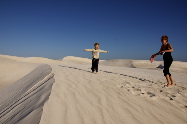 Western Australia Lancelin Sand dunes