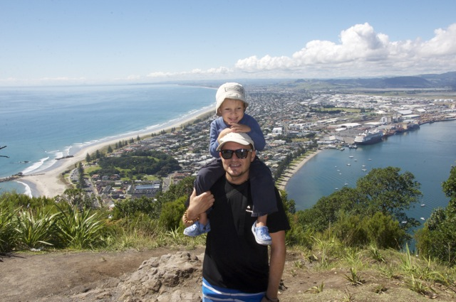 Mount Maunganui - New Zealand with Kids